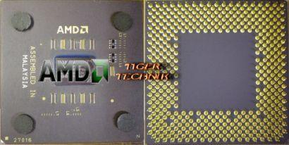 CPU Prozessor AMD Duron 850MHz D850AUT1B Sockel 462/A FSB200* c235