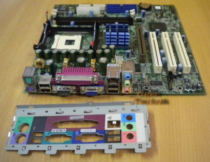 Acer S88M Mainboard mit Blende Veriton 7500G Original Ersatz Sockel 478* m44