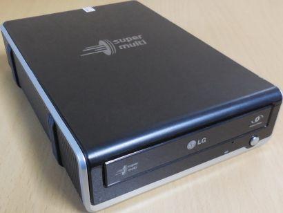 LG HL Data Storage GE20NU10 External Super Multi DVD-RW DL Brenner schwarz* L325