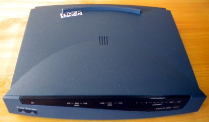 Cisco 836-837 ADSL Security Router Series 800A 1096-02-1802* nw386