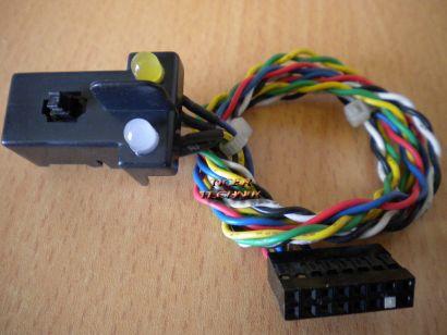 Fujitsu Siemens Scenic G626-138 Power Schalter Button Power LED HDD LED* pz164