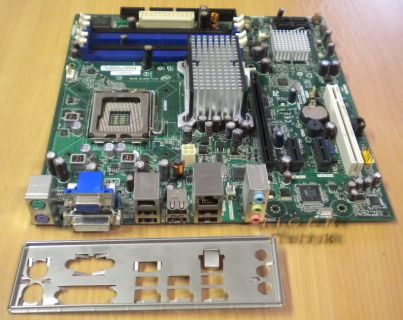 Intel DG35EC Mainboard mit Blende Sockel 775 Quad-Core Ready * E29266-206 * m57