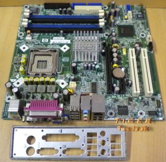 HP Compaq DX 6100 MT Mainboard + Blende SP 365864-001 AS 343104-001* m52