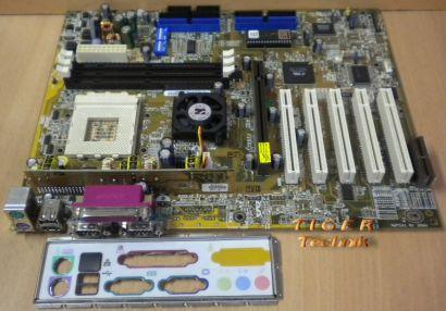 Asus A7V133 rev. 1.05 mit Blende Sockel 462 * IDE-RAID * m59