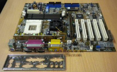 Asus A7V133 rev. 1.05 mit Blende Sockel 462 IDE-RAID mit Sound * m60