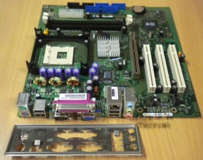 Fujitsu Siemens D1761-A22 GS1 Mainboard mit Blende Sockel 478 VGA AGP LAN *m69