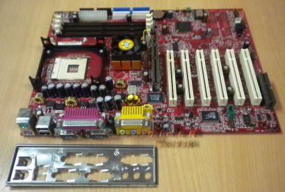 MSI MS-6528 Ver: 1.0 845 Pro2 mit Blende Sockel 478 m72