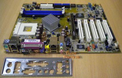 Asus A7N8X-E Deluxe Rev 1.01 Mainboard + Blende * Sockel 462 FSB400 * m78