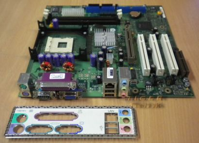 FSC D1520-A13 GS 2 Mainboard + Blende FSB533 DDR333 5.1 Sound AGP 4X* m206
