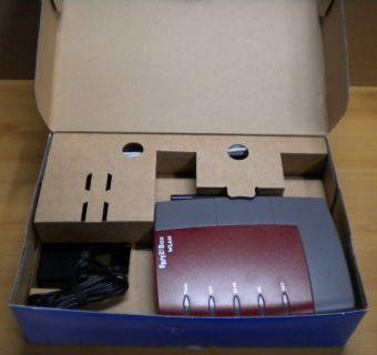 Fritz!Box Fon WLAN 3170 Router Rot ADSL ADSL2+ 4-ports 2x USB* nw467