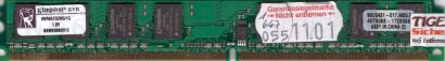 Kingston KVR667D2N5 1G PC2-5300 1GB DDR2 667MHz 99U5431-017 A00LF RAM* r335