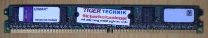 Kingston KVR667D2N5K2/2G PC2-5300 2GB DDR2 667MHz 9905431-027.A00LF RAM* r355