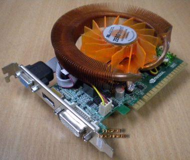 nVidia GT610 Grafikkarte PCI-E 1GB DDR3 64bit DVI VGA HDMI g70