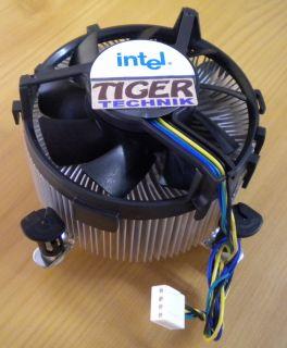 Intel C91300 004 Sockel 775 92mm CPU Lüfter DC12V 0.28A Alu+Kupferkern* ck29