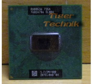 CPU Prozessor Intel Pentium M 735A SL8BA 1.7GHz 400MHz FSB 2M Cache* c482