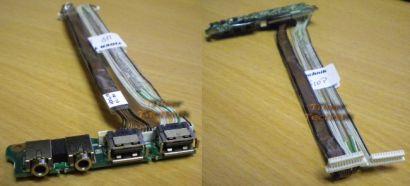 HP Original 8510p 8510w USB + Audio Board Laptop Notebook HP Part 455426-001* nb12