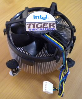 Intel D34017 001 Sockel 775 Prozessorkühler CPU Lüfter Aluminium + Kupfer* ck99