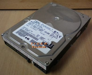 IBM HITACHI Deskstar IC35L040AVVA07-0 HDD Festplatte ATA/IDE 41.1GB* f106