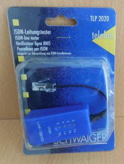 Schwaiger ISDN-Leitungstester ISDN Leitungsprüfer ISDN-Line tester RNIS* so530