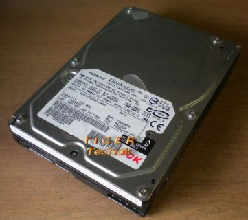 Hitachi Deskstar 7K80 HDS728080PLA380 Festplatte HDD SATA II 80GB 3,5 f133