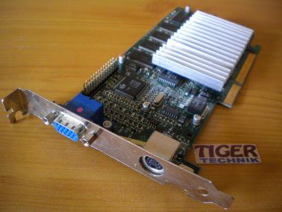 3Dfx STB Sys Voodoo3 3000 AGP 16MB 128Bit SDRAM Grafikkarte  VGA TV-Out* g310