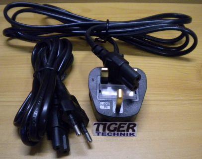 LINETEK LP-21 und BS-1363 A LP-60L Stromkabel für DSA-0421S-122 36 Adapter* so10
