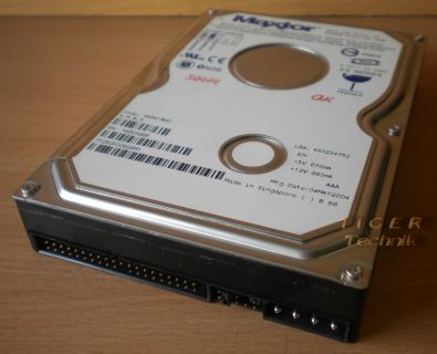 Maxtor  536DX Model 4W060H4 Ultra ATA/100 HDD 60GB f155