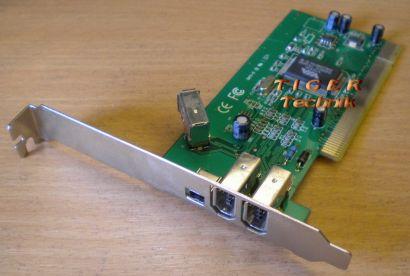 4-Port Adapter Card 4x FireWire 3x 1394a 1x mini Versch. Hersteller* sk29