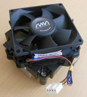 Amatech 13G075135022H2 Intel Sockel 775 80mm 4-pol CPU Lüfter* ck214