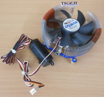 ZALMAN CNPS7700 AlCu Sockel 775 92mm 3-pol CPU Lüfter + Fan Mate 2* ck241