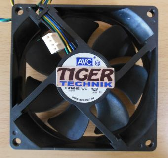 AVC DS09225B12HPFAF V26815-B116-V53 92mm 4-pol Gehäuse Lüfter* gl68
