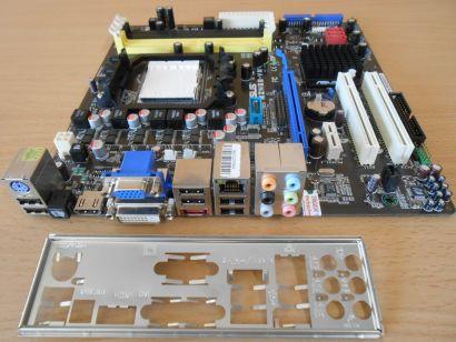 Asus M2N68-VM Rev2.01G Mainboard +Blende AMD Sockel AM2+ AM2 DDR2 VGA HDMI* m757