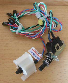 Power Reset Schalter HDD Power LED 15A 125VAC 10A 250VAC TV-5 5A80A T85* pz358