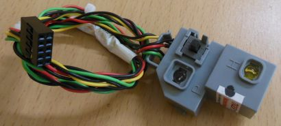 Compaq SR5000 Power Schalter Power HDD LEDs Halterung 5043-0084* pz359