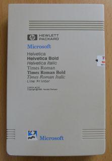 HP Microsoft C2053A C02 Line Printer Font Cartridge Patrone* dr02