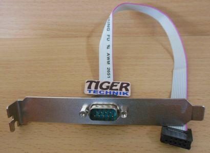 COM Seriell Slotblende Slot Blende Slotblech 9-pin serial bracket* pz374