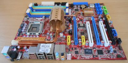 Foxconn X38A Mainboard Sockel 775 Intel X38 DDR2 DDR3 PCIe Dual GBLAN RAID* m772