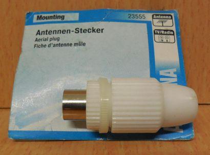 Skymaster 23555 Antennen-Stecker Koax Stecker Antennen Stecker TV Radio* so717