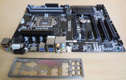 Gigabyte GA-Z87-HD3 Rev1.1 Mainboard Blende Intel Z87 Sockel 1150 PCIe DDR3*m779