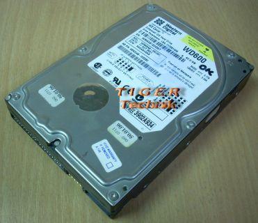 Western Digital Caviar WD600BB -75CAA0 Festplatte HDD IDE 60GB 3,5 f230