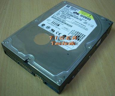 Western Digital Caviar WD600AB -32CDB0 Festplatte HDD IDE 60GB 3,5 f233