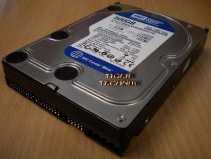 Western Digital WD5000AAKB-00H8A0 PATA/16MB Cache 500GB 3,5 f74