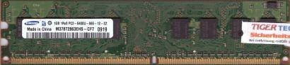 Samsung M378T2863EHS-CF7 PC2-6400 1GB DDR2 800MHz Arbeitsspeicher RAM* r417