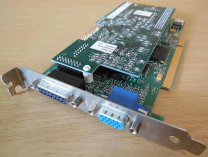 Matrox MIL2P 8I Millennium II 8MB 64-Bit PCI TVTuner MIL2 RRSTI VGA S-Video*g354