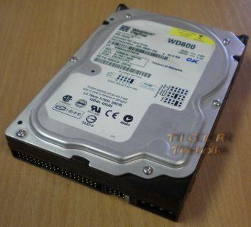 Western Digital Caviar WD800JB -00ETA0 Festplatte HDD IDE 80GB 3,5 f251