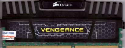 Corsair Vengeance 8GB Kit 2x4GB CMZ8GX3M2A1600C9 PC3-12800 DDR3 1600MHz RAM*r469