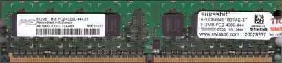 Aeneon AET660UD00-370A98X PC2-4200 512MB DDR2 533MHz Arbeitsspeicher RAM* r530