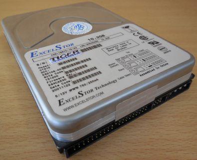 ExcelStor CT210 IDE 10,2GB 3,5 Festplatte Computer HDD* f668