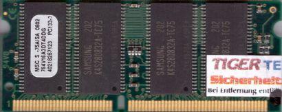 MSC 764V16A3DT4DDG-75AISA PC133 128MB SDRAM 133MHz SODIMM Arbeitsspeicher* lr17