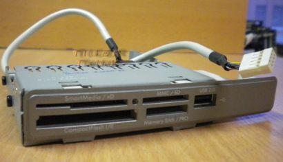 HP 5069-8363 Card Reader 9in1 4-Slot Kartenleser für Pavilion PCs silber* KL41